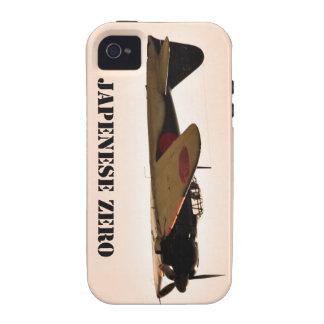Japanese Zero World War 2 Aircraft Case-Mate iPhone 4 Cases
