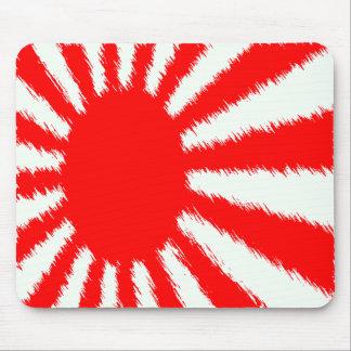 Japan's Rising Sun Mouse Mat