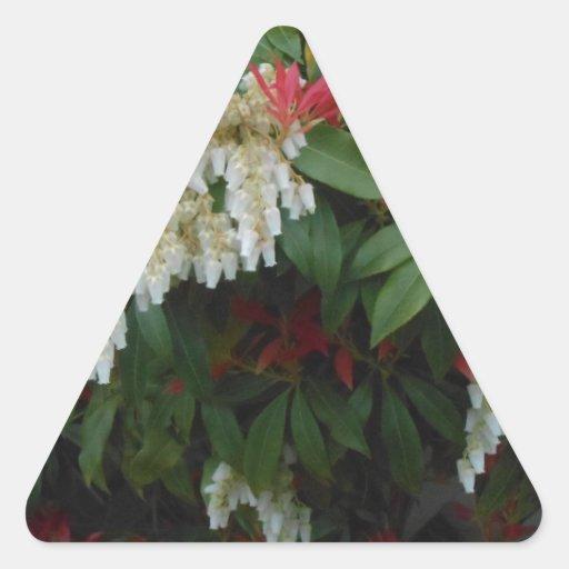 Japonica Triangle Sticker