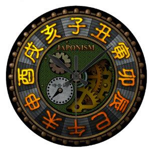 japonism2 large clock