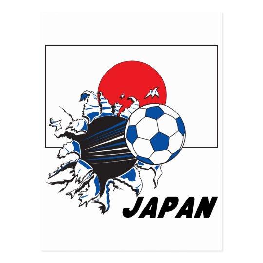 Jappan Soccer Gear Postcard