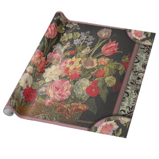 Jaquebloom Floral rip-resistant Gift Wrapping Paper