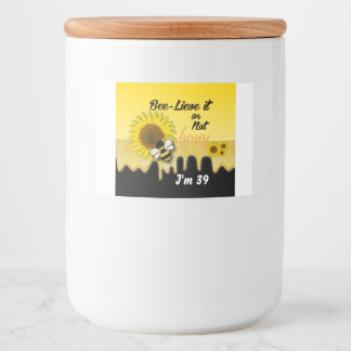 Jar and Food Container Labels