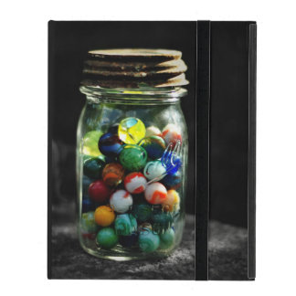 Jar Full of Sunshine and Glass Marbles iPad Case