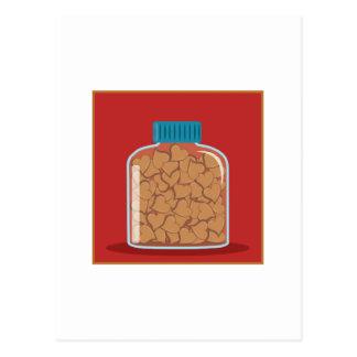 Jar Of Hearts Post Card