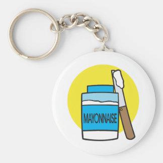 jar of mayonnaise key ring