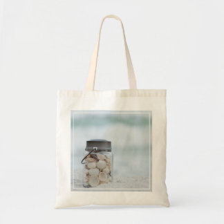 Jar Of Seashells On The Beach | Florida Tote Bag