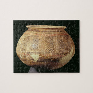 Jar with geometric decoration in the Halaf style, Jigsaw Puzzle