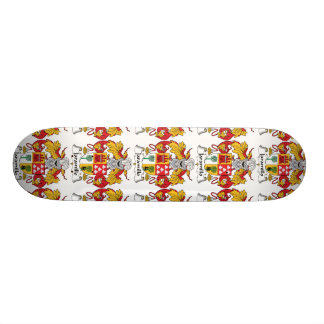 Jaramillo Family Crest 21.6 Cm Skateboard Deck