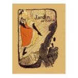 Jardin de Paris - Toulouse-Lautrec Postcard