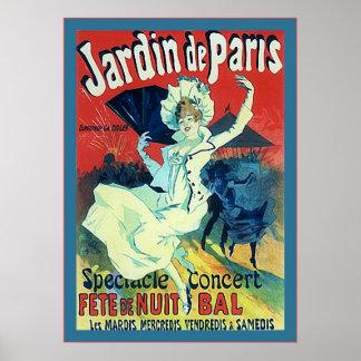 Jardin de Paris ~ Vintage French Advertising Posters