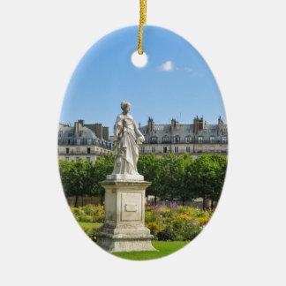 Jardin des Tuileries in Paris, France Christmas Ornament