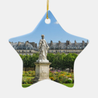 Jardin des Tuileries in Paris, France Christmas Ornament