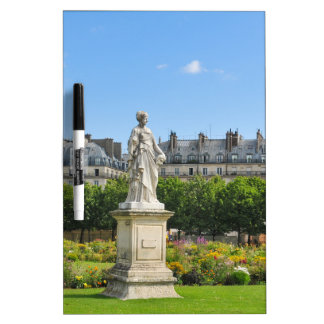 Jardin des Tuileries in Paris, France Dry-Erase Board