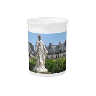 Jardin des Tuileries in Paris, France Pitcher