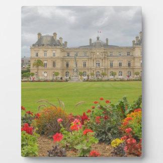 Jardin du Luxembourg Display Plaque