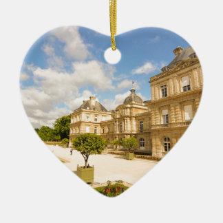 Jardin du Luxembourg in Paris Christmas Ornament