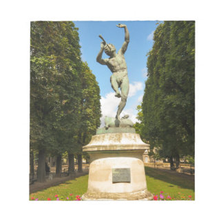 Jardin du Luxembourg in Paris Notepad