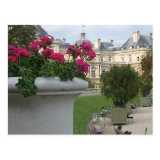 Jardin du Luxembourg Postcard