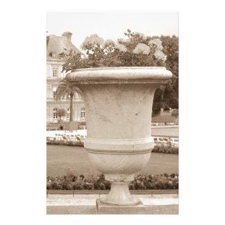 Jardin du Luxembourg, vintage Paris Stationery