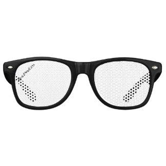 JaredWatkins black logo glasses