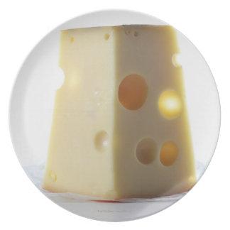 Jarlsberg Cheese Slice Plate