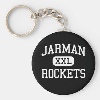 Jarman - Rockets - Junior - Midwest City Oklahoma Keychain