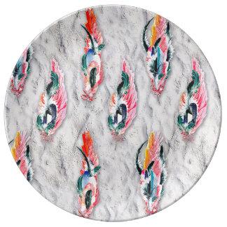 JarreBird™ Feather Porcelain Plate