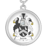 Jarvis Family Crest Custom Necklace
