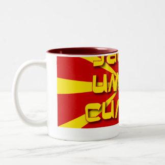 Jas ja imam silata Two-Tone coffee mug