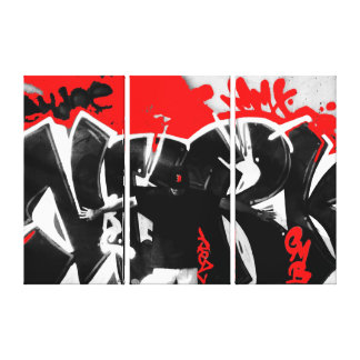 Jasen Sousa Three Piece Pose Canvas Print