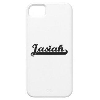 Jasiah Classic Retro Name Design iPhone 5 Cover