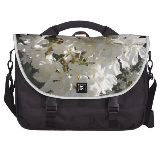 Jasmine Blossom Laptop Shoulder Bag
