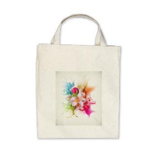 Jasmine flower tote bags