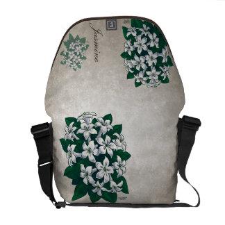 Jasmine Flowers Customizable Commuter Bag