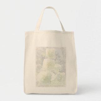 Jasmine Light Grocery Tote Bag