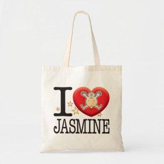 Jasmine Love Man Tote Bag