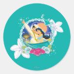Jasmine - Ready for Adventure! Round Sticker