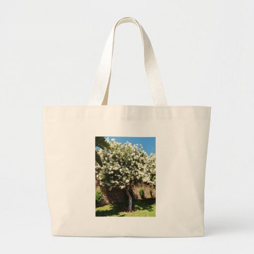 Jasmine Tree In Bloom Canvas Bag