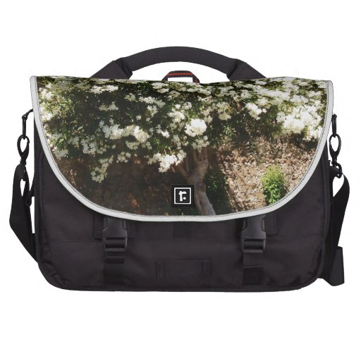 Jasmine Tree In Bloom Laptop Bags