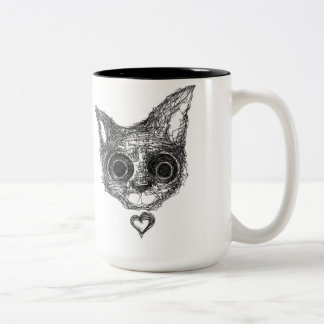 Jasmine Two-Tone Coffee Mug