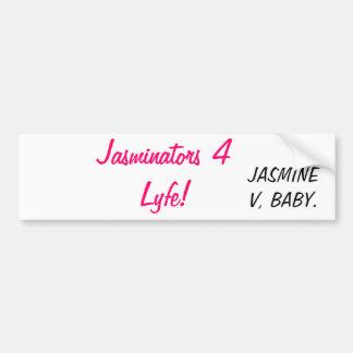 Jasmine V Bumper Car Sticker! Bumper Sticker