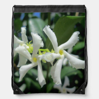 Jasmine White Tubes Flower Rucksack