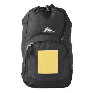 Jasmine Yellow Backpack