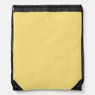 Jasmine Yellow Drawstring Backpack