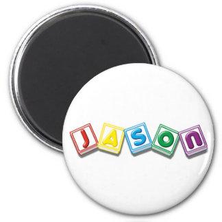 Jason 6 Cm Round Magnet