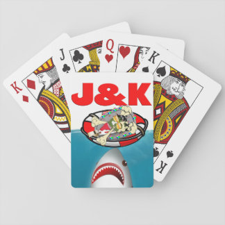 Jason and the Kruegers: Shark Weak Cards Playing Cards