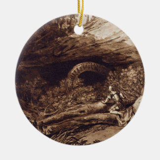 Jason, engraved by Charles Turner (1773-1857) (eng Christmas Ornament