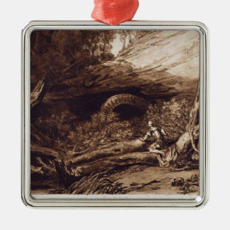 Jason, engraved by Charles Turner (1773-1857) (eng Silver-Colored Square Decoration