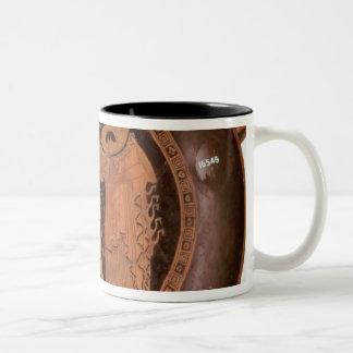 Jason is regurgitated Two-Tone coffee mug
